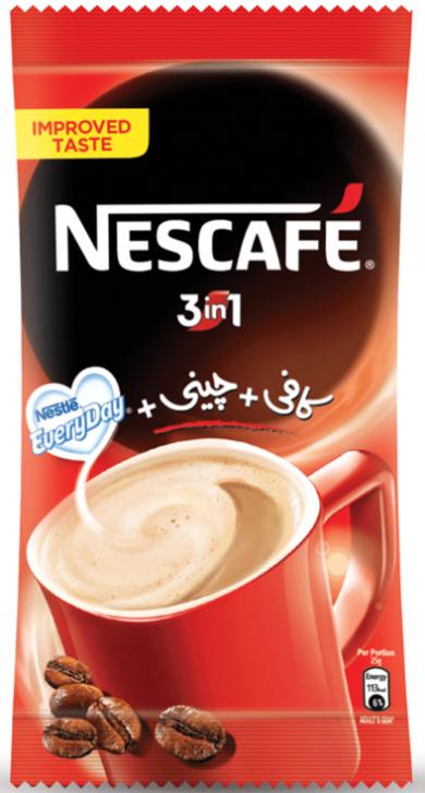 Grocerapp.pk: Nescafe 3 In 1 Instant Coffee Sachet: Cold ...