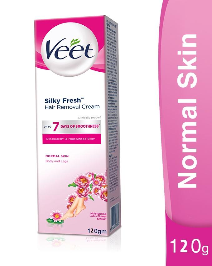Buy Veet Silk Fresh Normal Skin Hair Removal Lotion Hair
